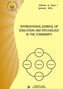 Book Cover: Volume 3, Issue 1, 2013