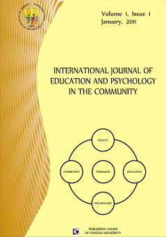 Book Cover: Volume 1, Issue 1, 2011