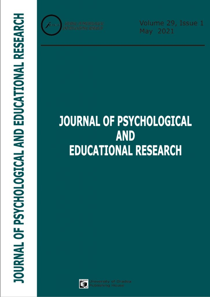 Book Cover: Volume 29, Issue 1, 2021