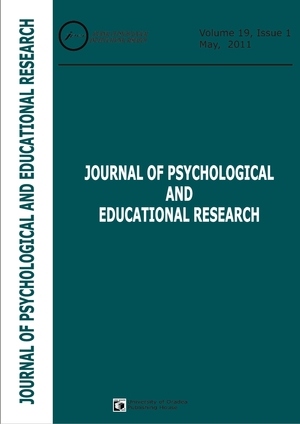 Book Cover: Volume 19, Issue 1, 2011