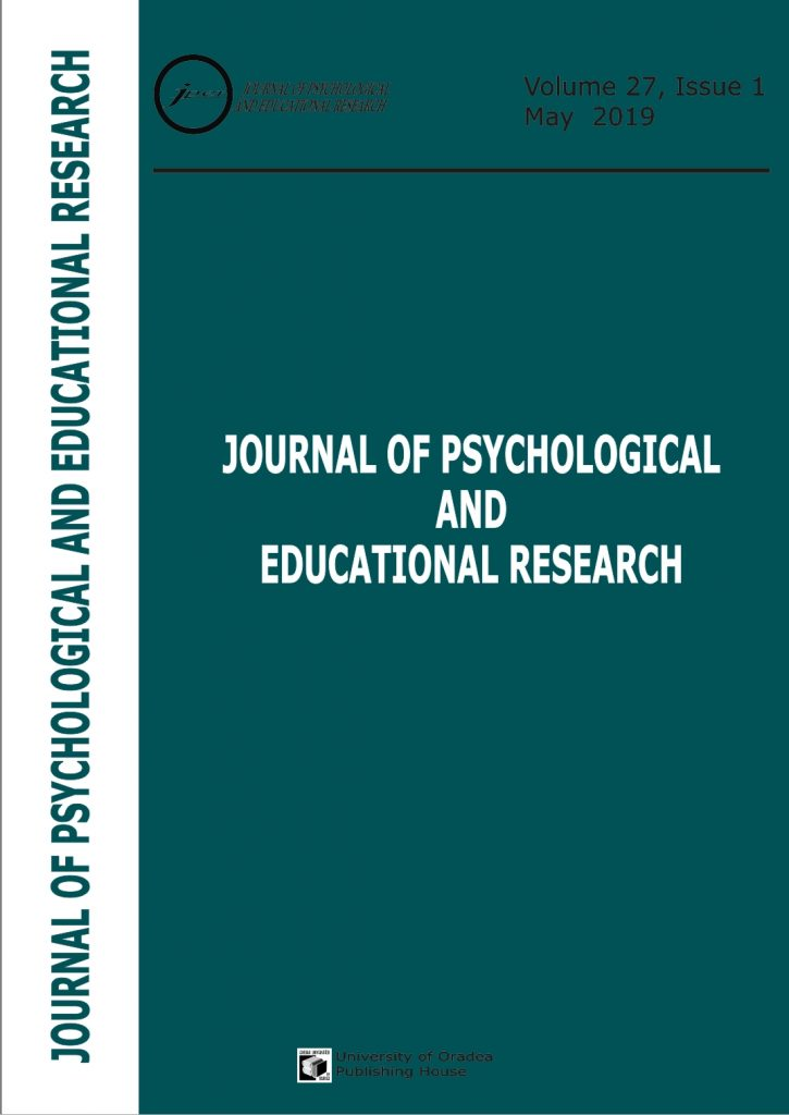 Book Cover: Volume 27, Issue 1, 2019